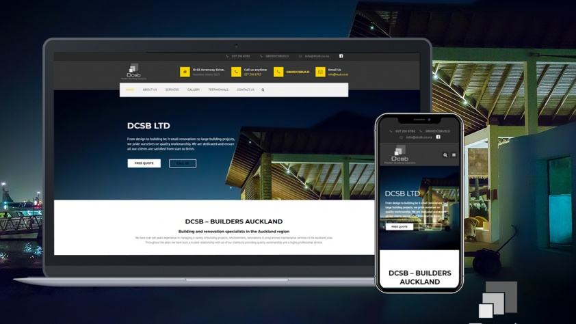 DCSB Website Design