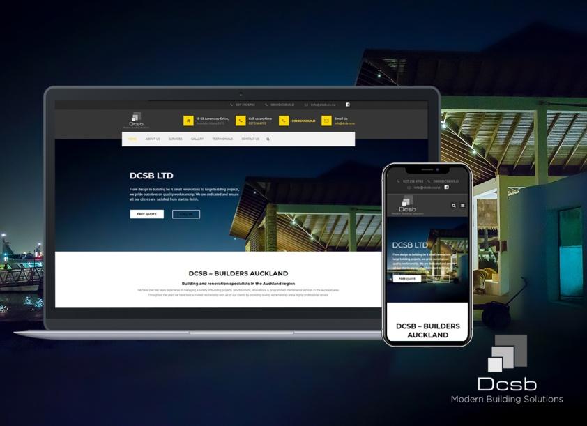 DCSB Website Design