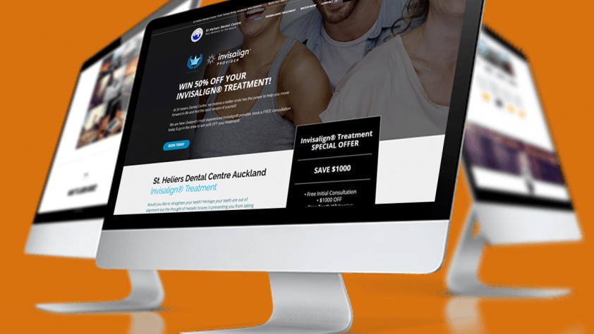 Invisalign Website Design