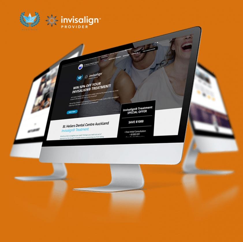 Invisalign Website Design