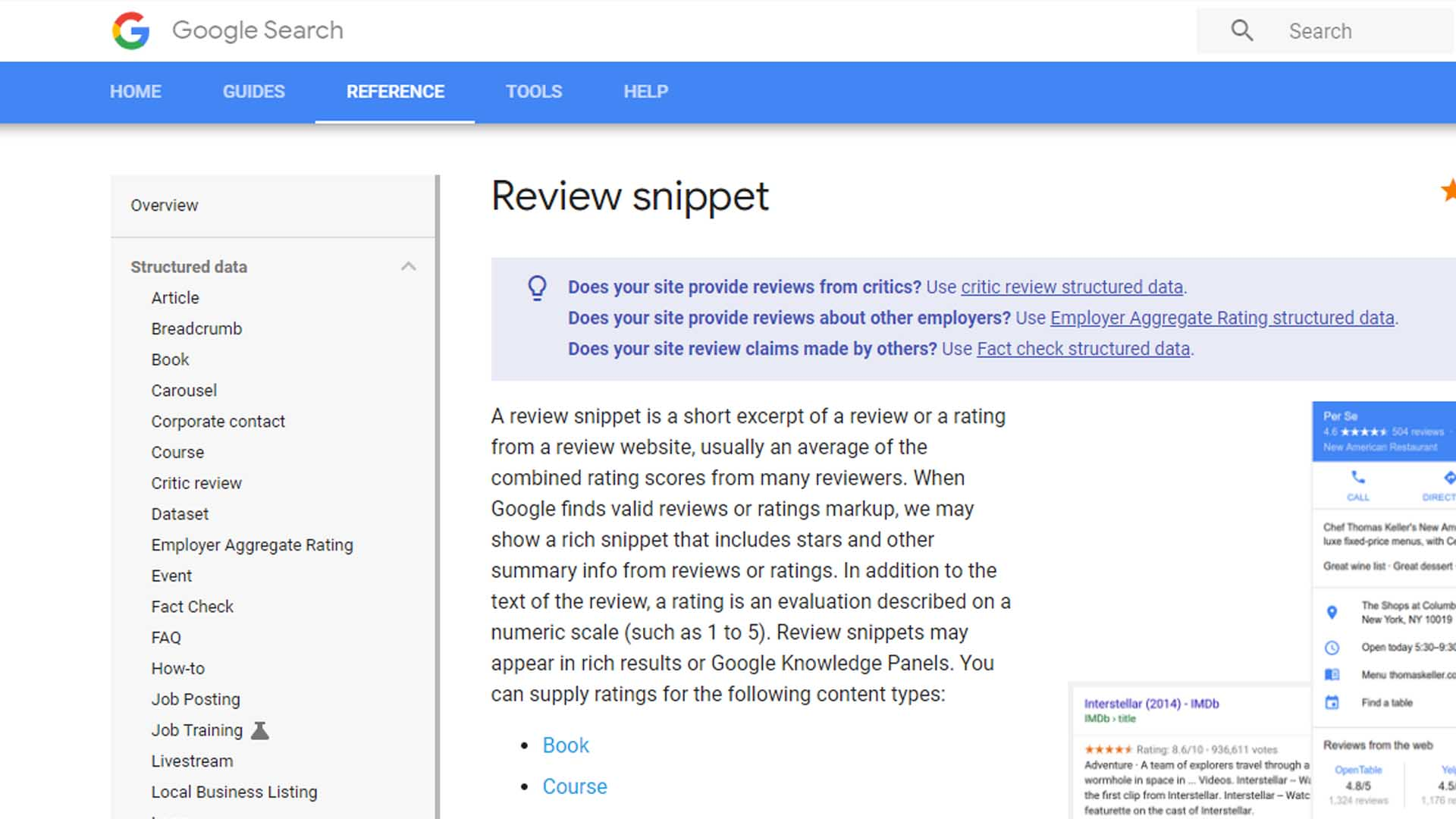 Google Star Review In Search Results Gone