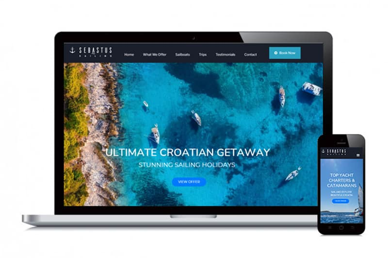 Sebastus Sailing | Sailing Holidays | Sailing Croatia